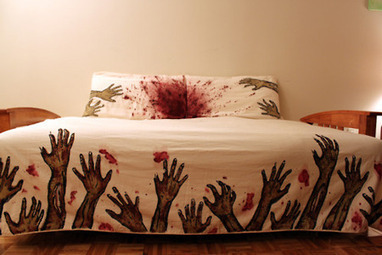 Zombie bed sheets | Zombie Mania | Scoop.it
