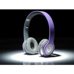 Beats by Dr. Dre Solo Diamond White Headphones Purple MB200 | CheapBeatsbyDreoutlet | Scoop.it