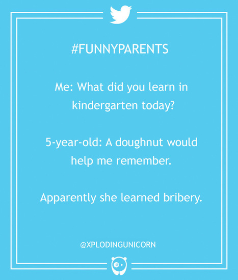 20+ Hilarious Parenting Tweets That Every Parent Can Relate To | Strange days indeed... | Scoop.it