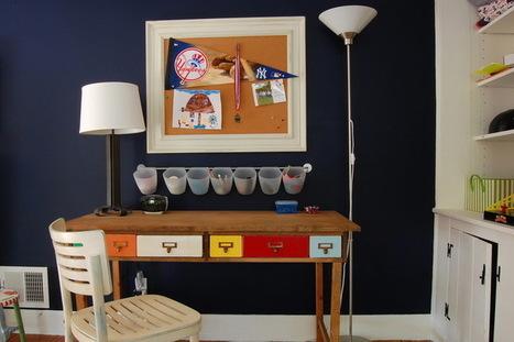 12 Ideas for Creative Desks | Designing Interiors | Scoop.it