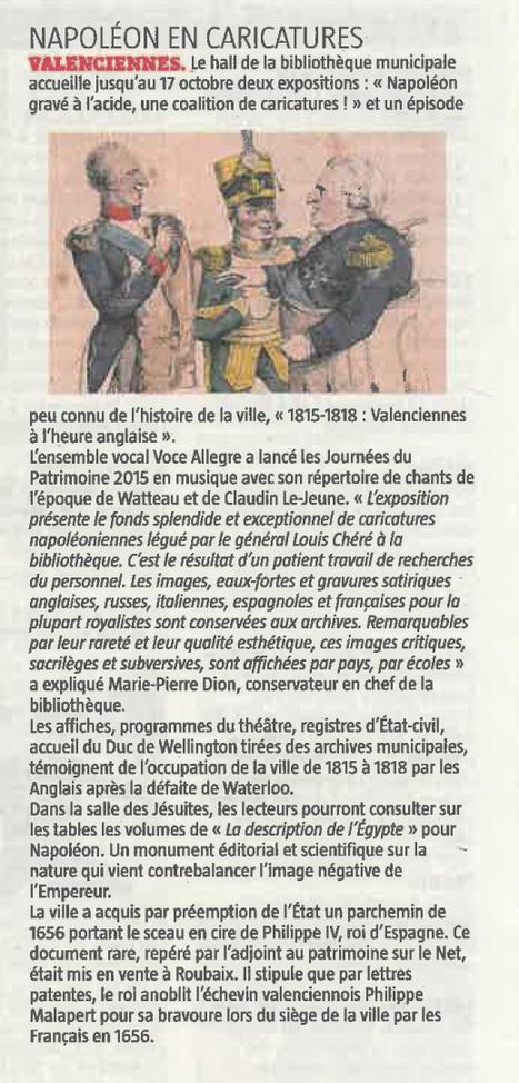 Napoléon en caricatures | Revue de presse | Scoop.it