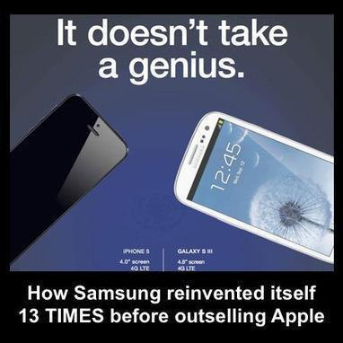 :: How Samsung reinvented itself 13 times before outselling Apple :: | Information Economy | Scoop.it