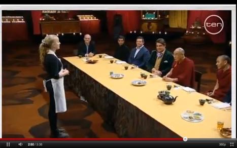 Le Dalai Lama, invité de Master Chef (vidéo) - RTL.be | Végétarisme, alternative alimentaire | Scoop.it
