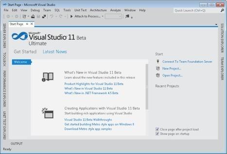 The Road to Visual Studio 11 Beta and .NET 4.5 Beta - Somasegar's WebLog - Site Home - MSDN Blogs | AspNet MVC | Scoop.it