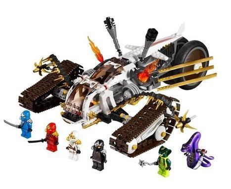Lego Ninjago - 9449 - Le Tout -Terrain Ultrasonique   lagranderecreation.com   Enfants   Scoop.it