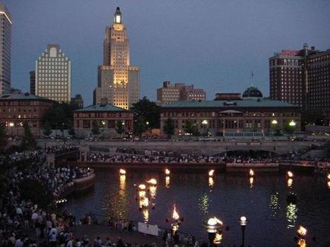 Waterfire downtown Providence, Rhode Island at Water Place Park | Als Return to Education | Scoop.it