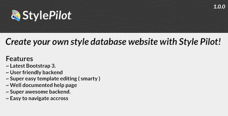 StylePilot – Style Database Management (Miscellaneous) | PHP Scripts Download | Scoop.it