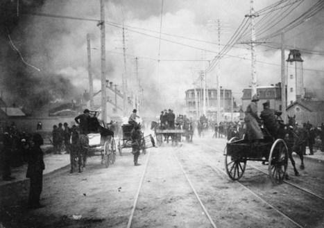 Le Grand Feu de Hull et d'Ottawa en 1900 | Histoire de l'Outaouais | Scoop.it