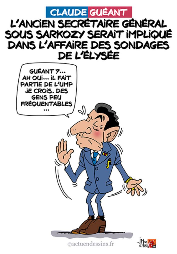 Sondages de l'Elysée : Claude Guéant impliqué ? | Baie d'humour | Scoop.it