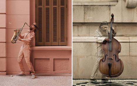 Du camouflage urbain pour un festival de Jazz | Instantanés | Scoop.it