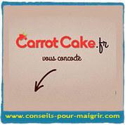 Pour maigrir avec une alimentation équilibrée, Oser Carrot Cake !   Maigrir vite   Scoop.it