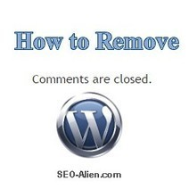 How to Remove of Comments Are Closed in WordPress - Flexsqueeze Theme | Allround Social Media Marketing | Scoop.it
