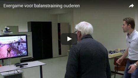 Exergame om balans ouderen te trainen   Fysiotherapie   Scoop.it