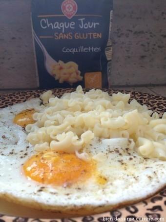 Ce midi, oeuf au plat coquillettes au beurre… sans gluten ! | Bien dans ma cuisine | Huiles essentielles by Danièle Festy | Scoop.it