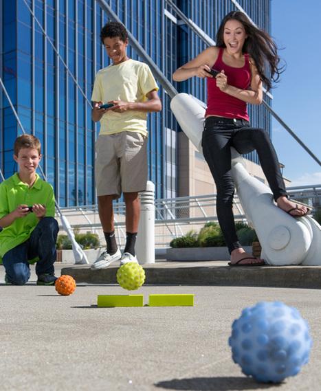 Sphero - Programmable Robot Toy by Orbotix » Yanko Design | Things I Like | Scoop.it