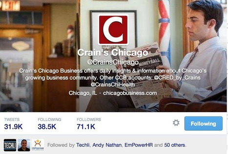 Top 20 Agency Twitter Accounts to Follow – UpCity | Digital-News on Scoop.it today | Scoop.it