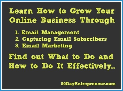 Learn How to Grow Your Online Business Through Effective Email Marketing | Social Media Marketing | Scoop.it