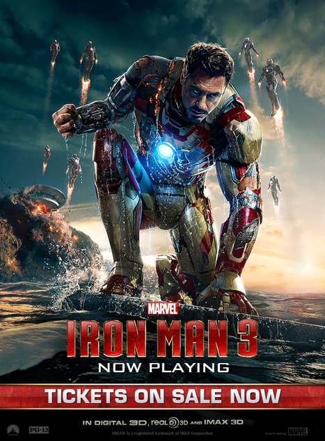 'Iron Man 3' Soar Robert Downey Jr.'s quippy billionaire-cum-superhero Tony Stark is back in the self-aware, ridiculously fun Iron Man 3, which also features a very buff Gwyneth Paltrow as his Girl... | FILM AND TV | Scoop.it