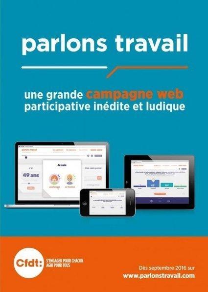 Enquête « Parlons travail » - SCERAO-CFDT   CFDT Schneider Region Parisienne   Scoop.it