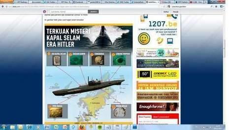 Wrak Duitse onderzeeër uit WOII bij Java ontdekt | KAP-JurakholovaM | Scoop.it