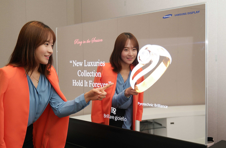 Samsung shows off new transparent, mirrored OLED displays | 21st Century Innovative Technologies and Developments as also discoveries, curiosity ( insolite)... | Scoop.it