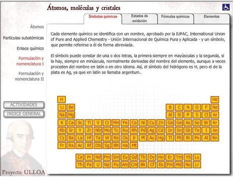 Proyecto Ulloa   QUIMICA   Scoop.it