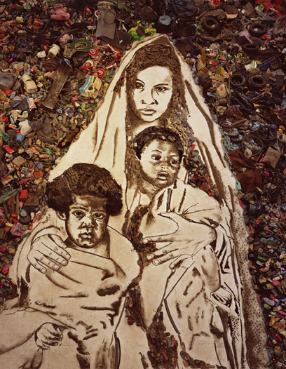 Vik Muniz's - Pictures of Junk and Garbage - My Modern Metropolis | BASIC VOWELS | Scoop.it