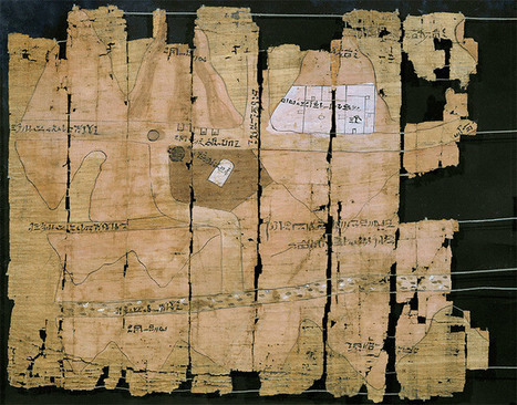 Turin Papyrus Map, c.1150 BC | History Today | Navigate | Scoop.it