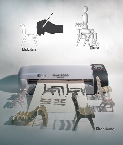 Laser-Printed Furniture?! Draw It in 2D then Build It in 3D | Just Do It Yourself | Scoop.it