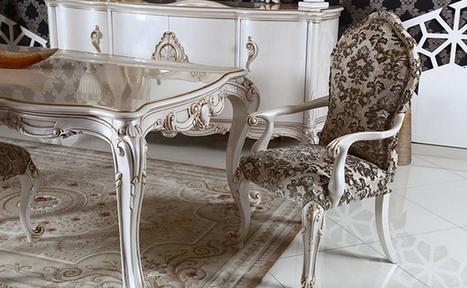 Beyaz Klasik Yemek Odası Takımları ve Fiyatları   Mobilya Modelleri ve Dekorasyon Tavsiyeleri   Scoop.it
