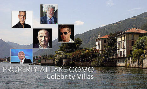 5 Celebrity Villas of Lake Como - Must See For Luxury Properties Buyers - Real Estate Services Lake Como | Property at Lake Como | Scoop.it