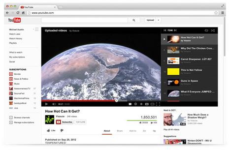 Nouveau design Youtube : quels sont les changements ? | Locita.com | Réseaux sociaux - best practices | Scoop.it