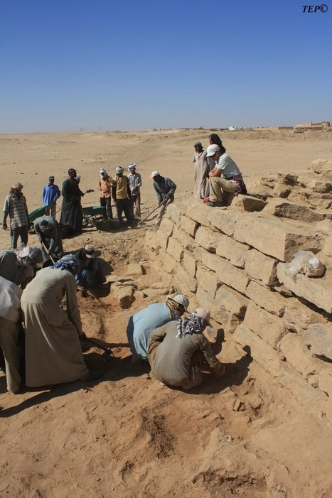 The Archaeology News Network: 4,600-year-old step pyramid discovered in Egypt | Aux origines | Scoop.it