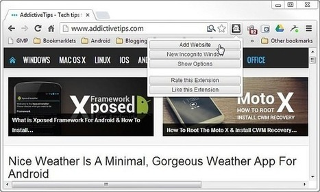 Set Chrome To Automatically Open Specific Sites In Incognito Mode | Time to Learn | Scoop.it
