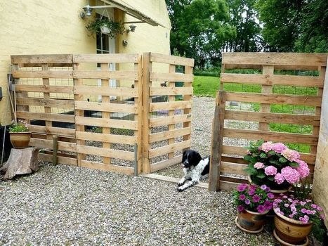 Make a Pallet Fence that will cost you nothing | fencing | Scoop.it