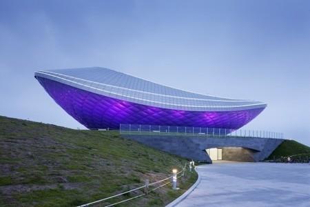 [Daegu, South Korea] The ARC- River Culture Multimedia Theater Pavilion / Asymptote Architecture   The Architecture of the City   Scoop.it