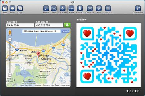 iQR Codes: Make Creative QR Codes to Go Anywhere | dorsa | Scoop.it