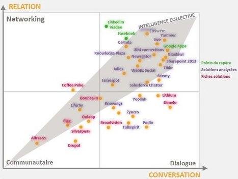Réseaux sociaux d'entreprise : s'y retrouver dans la jungle des solutions | Réseaux sociaux et Curation | Scoop.it