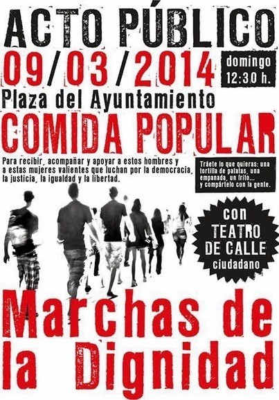 La columna murciana llega a Molina de Segura - Marchas de la Dignidad - #22M | Bruno Jordán | Scoop.it
