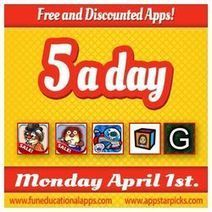 Tuesday Free Apps for Kids- Language Arts and Communication- April 2 | App-a-Palooza | Scoop.it