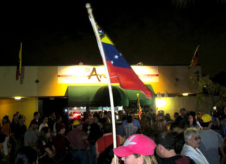 Venezuelans Celebrate In Doral Following Death of Hugo Chavez - Miami - News - Riptide 2.0 | READ WHAT I READ | Scoop.it