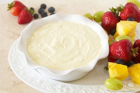 Wild Orange Fruit Dip | Essential Oils Recipe | Scoop.it