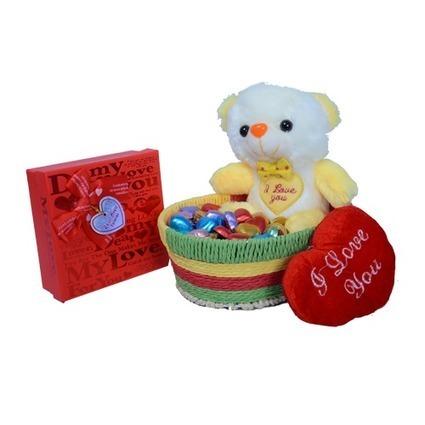 Basket teddy combo - Send My Gift | Send My Gifts | Scoop.it