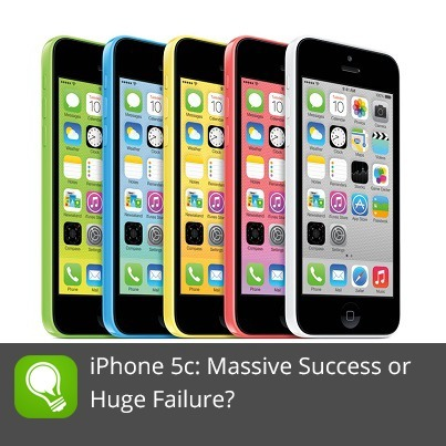 The iPhone 5C: Massive Success or Huge Failure? - Idea to Appster | All About Mobile | Scoop.it
