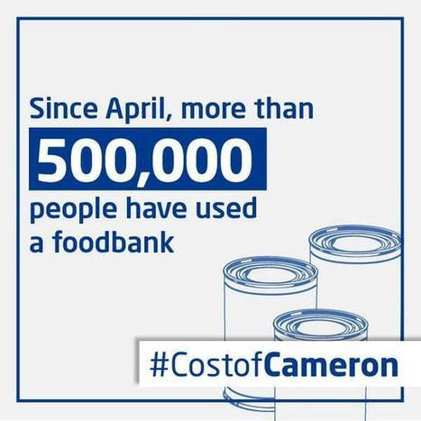 Twitter / UKLabour: #CostofCameron: Since April, ... | Escaping Poverty | Scoop.it
