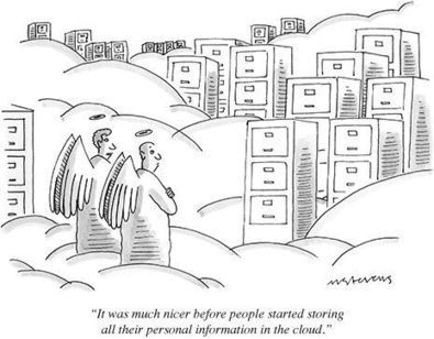 Hilarious Cloud Computing Cartoon - SaaS Addict | SalesForce Information and Resources | Scoop.it