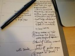Two exercises to help you your writing life   The Thesis Whisperer   High School Research   Scoop.it