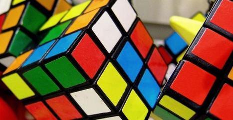 Il joue au Rubik's Cube sur un immeuble | meltyBuzz | Insolite | Scoop.it