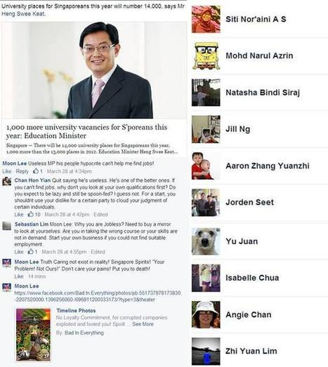 Poor Against Arrogant Hypocritical Well-Fed! - Bad In Everything | Facebook | Singapore For Sold! | Scoop.it