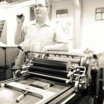 Letterpress and Vandercook Cylinder Press Expert Paul Moxon at ...   letterpress printing   Scoop.it
